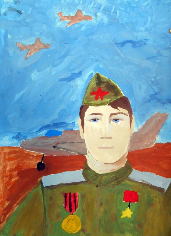 Картинки герои отечества портрет канатных